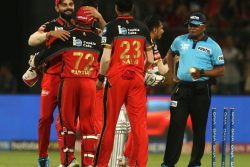Royal Challengers Bangalore lifted from the floor of the VIVO IPL 2019 standings after they defeated Kings XI Punjab by 17 runs.