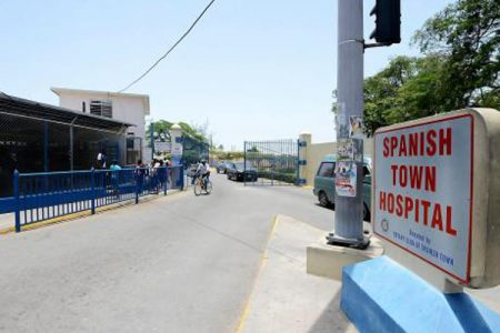 The entrance of the Spanish Town Hospital in St Catherine – File photo